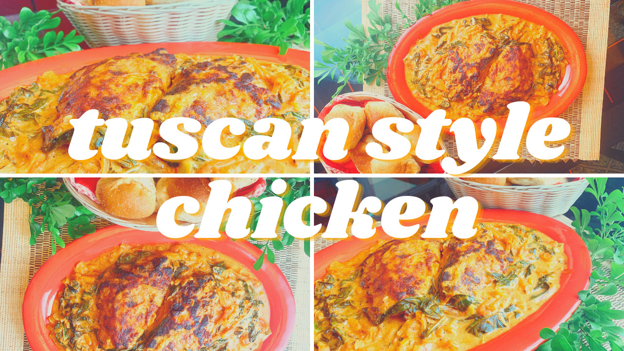 Delicious Tuscan Style Chicken Recipe