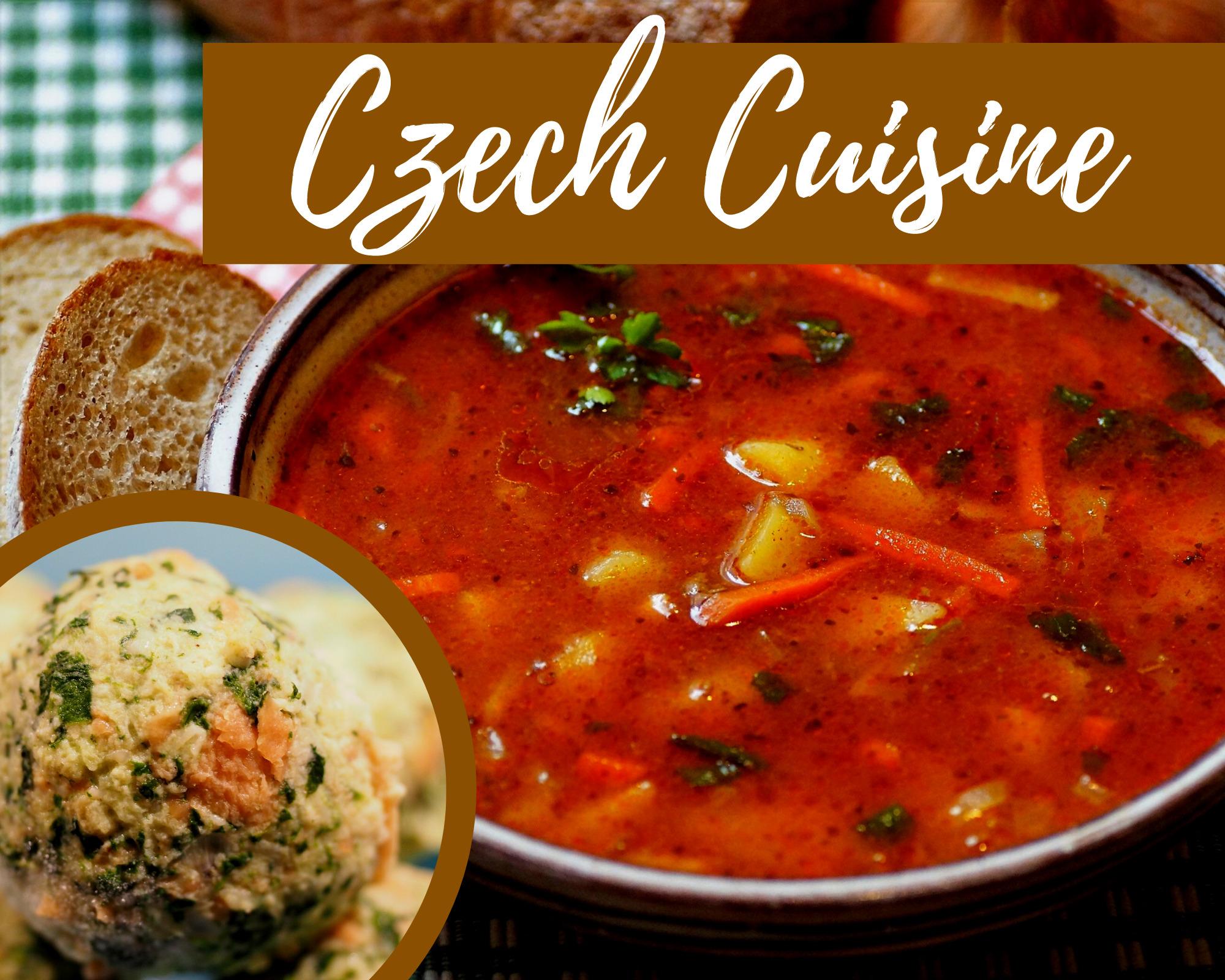 All about Czech Cuisine
