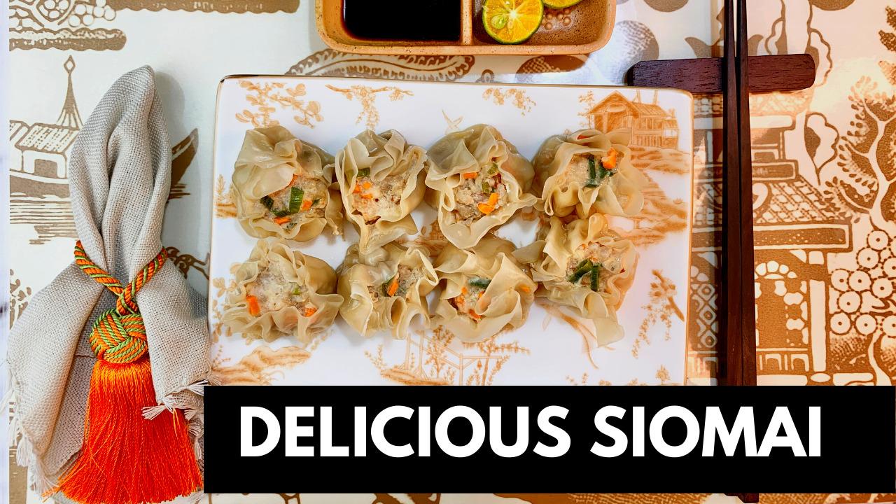 Delicious Siomai Recipe