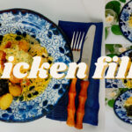 Creamy Chicken Thigh Fillet With Potatoes