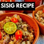 Pork Sisig Recipe