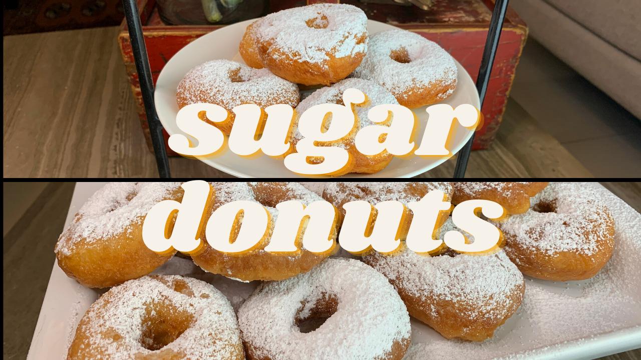 Sugar Donuts Recipe