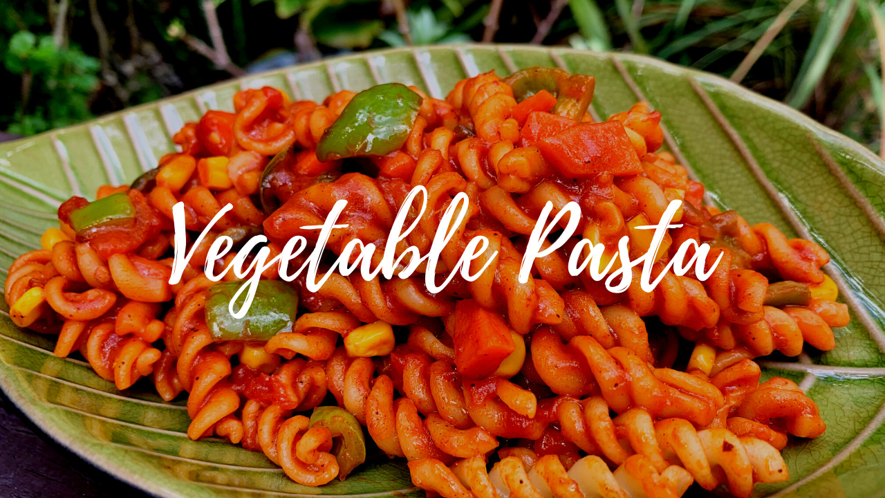 Indian-Style Vegetable Pasta Recipe