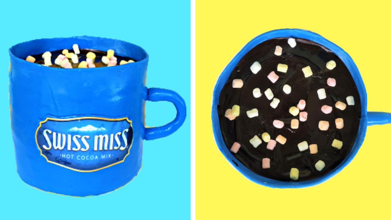 Fondant Mug Cake